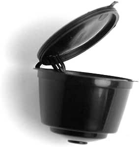 Adaptador de cápsulas Espresso, cápsulas para máquinas Nespresso, soporte de cápsulas buena alternativa Tamaño libre negro: Amazon.es: Hogar