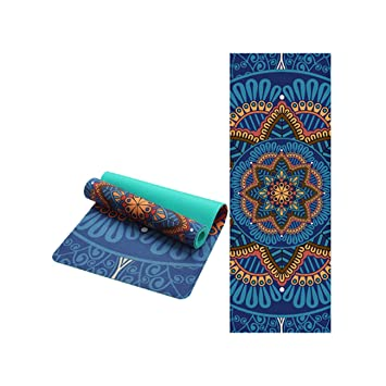 Amazon.com : Wonderful Life. 6 Mm Lotus Pattern Suede TPE ...