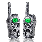 Amazon Price History for:AVALID Walkie Talkies for kids, 22 Channel FRS/GMRS Long Range 5KM Two-Way Radios with Free Straps, Ultra-Long Standby/Back-lit LCD Screen Radio Walkie for Indoor/Outdoor Activities( Pair,Grey Camo )