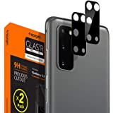 Spigen Camera lens Screen Protector [Glas.tR Optik] Tempered Glass designed for Galaxy S20 / S20 5G - 2 Pack