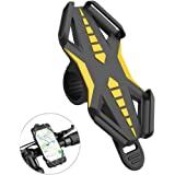 Bike Phone Mount, GVDV Universal Anti-Slip Adjustable Bicycle Motorcycle Cell Phone Holder For iPhone 7 6 6(+) 6s 6s Plus, Samsung Galaxy S8 S7 S6, Nexus, HTC, LG and More