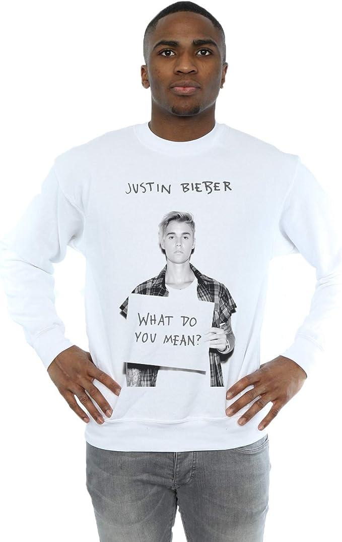 Justin Bieber hombre What Do You Mean Camisa de entrenamiento ...