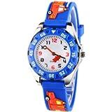 Venhoo Kids Watches 3D Cute Cartoon Digital Waterproof Silicone Children Wristwatches Time Teacher Gifts for 3 4 5 6 7 8…