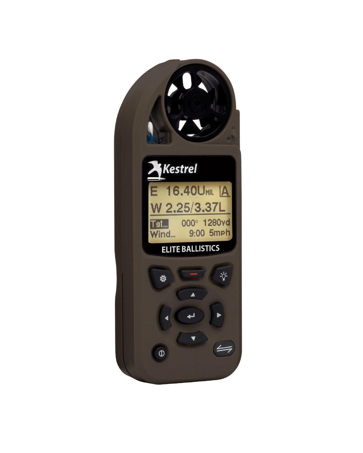 Kestrel 5700 Elite Weather Meter with Applied Ballistics, Flat Dark Earth by Kestrel (Image #2)
