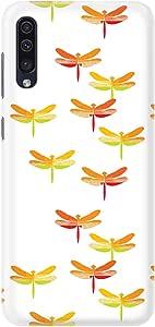 Stylizedd Samsung Galaxy A70 Slim Snap Basic Case Cover Matte Finish - Firefly