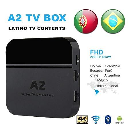 iptv brazil TV Box,a2 4k tv box,2018 Newest Portuguese