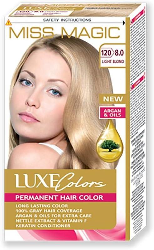 Tinta para pelo Miss Magic Tinte Rubio Claro Hair Colour con ...