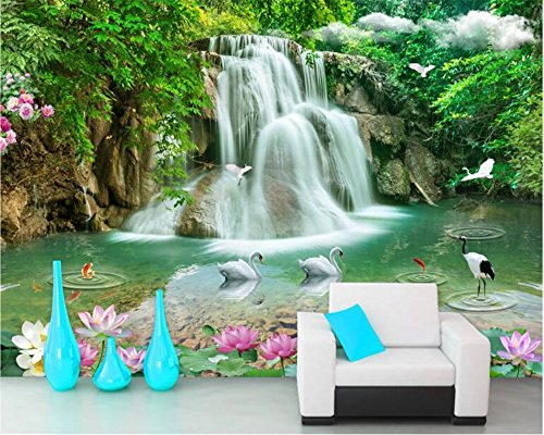 LHDLily Custom mural painting 6ft(183cm) width X10ft(305cm) - Material 6' Height