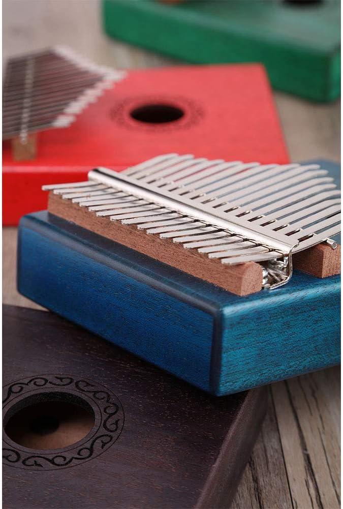 ACHICOO 17 Key Kalimba Thumb Piano Kids Adults Body Music Finger Percussion Keyboard green
