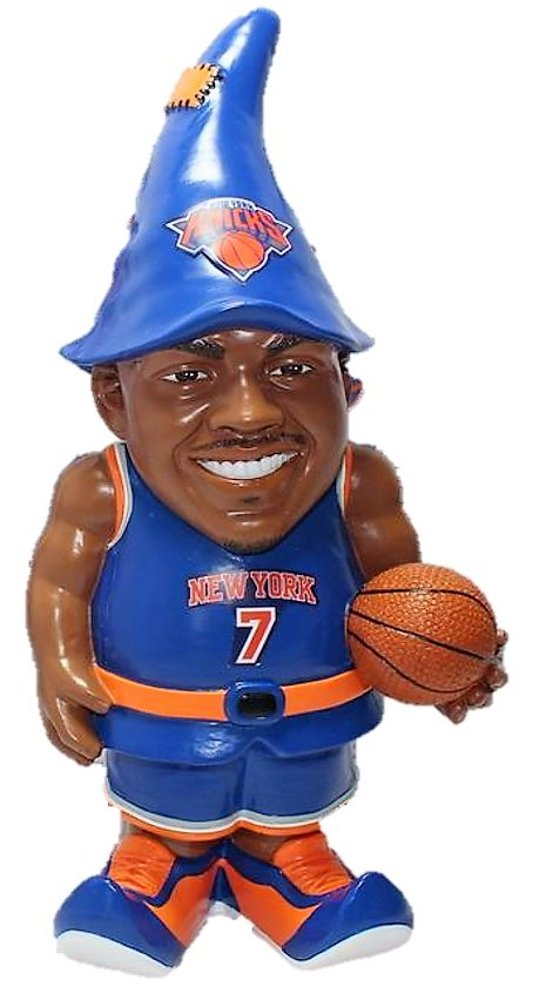 FOCO New York Knicks Anthony C. #7 Resin Player Gnome by FOCO