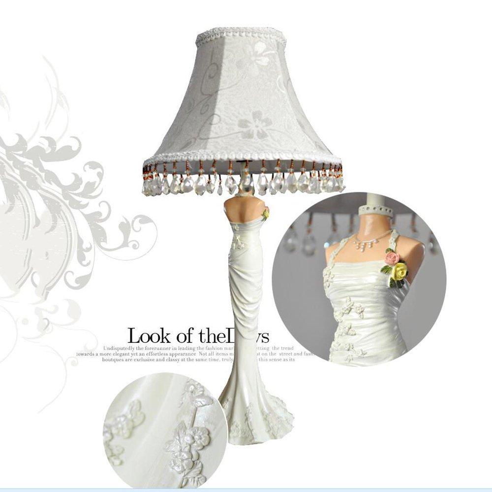 GBT Kreative Hochzeit Harz Tischlampe Bett Wohnzimmer Wohnzimmer Wohnzimmer Wohnzimmer Schlafzimmer Den Lampe,2-Tasten-Schalter B076KD8NFZ   Abgabepreis  c56527