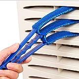 UNKE Microfiber Triple Slat Venetian Blind Duster