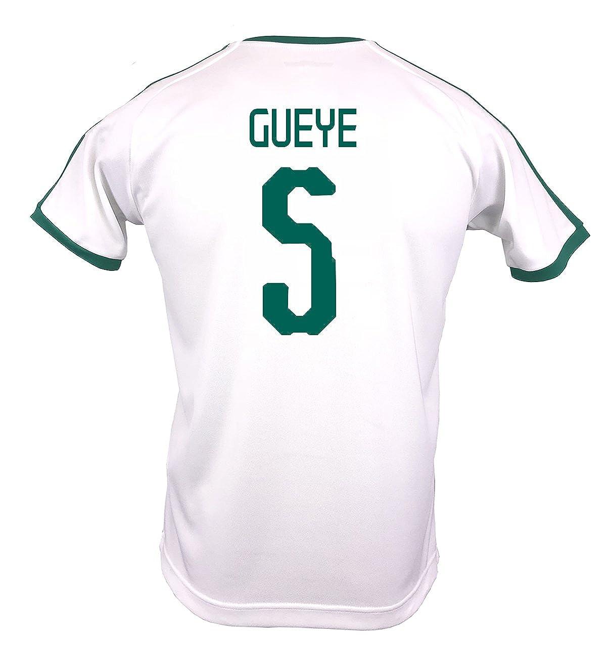 Puma Men's GUEYE # 5 Senegal Home Soccer Stadium Jersey World Cup Russia 2018/サッカーユニフォーム セネガル ホーム用 ゲイェ # 5 B07DMCZHCL US X-Large