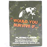Survival Tips Playing Cards by Frog & Co. - Have Fun & Learn Key Survival Skills... Discover Survival Gear You and Your…