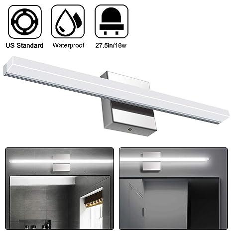 Amazon.com: Luces LED de tocador sobre espejo, 25,4 pulgadas ...