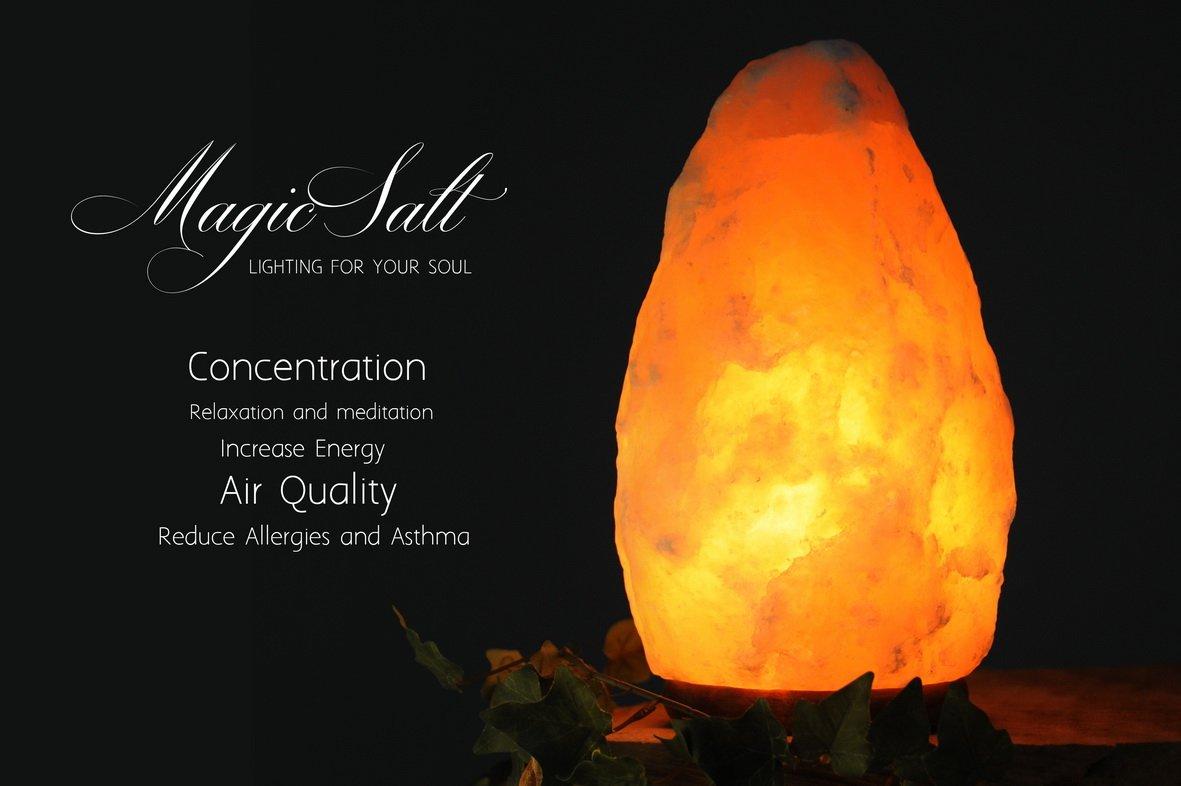 Lampada Di Cristallo Di Sale Ionizzante : Set di cristallo rosa rock sale dell himalaya naturale