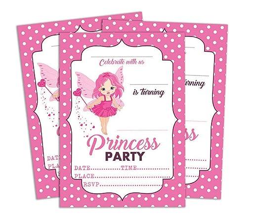 Darling Souvenir Tarjeta de cumpleaños Invitación Rosada de ...