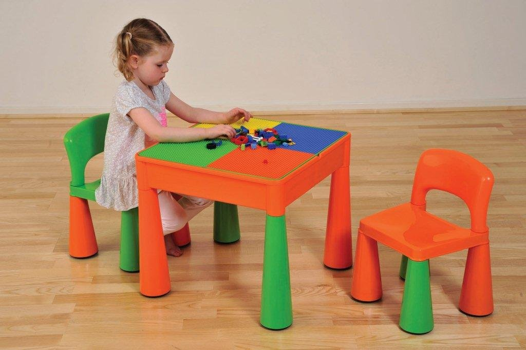in asp desks with table storage kids activity image
