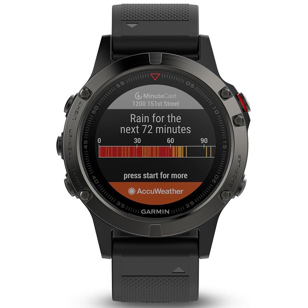 Garmin Fenix 5 de Multi Sport de GPS de Reloj con Exterior de navegación y muñeca basada en frecuencia cardíaca, 010 - 01685 - 00 (Certificado y General ...