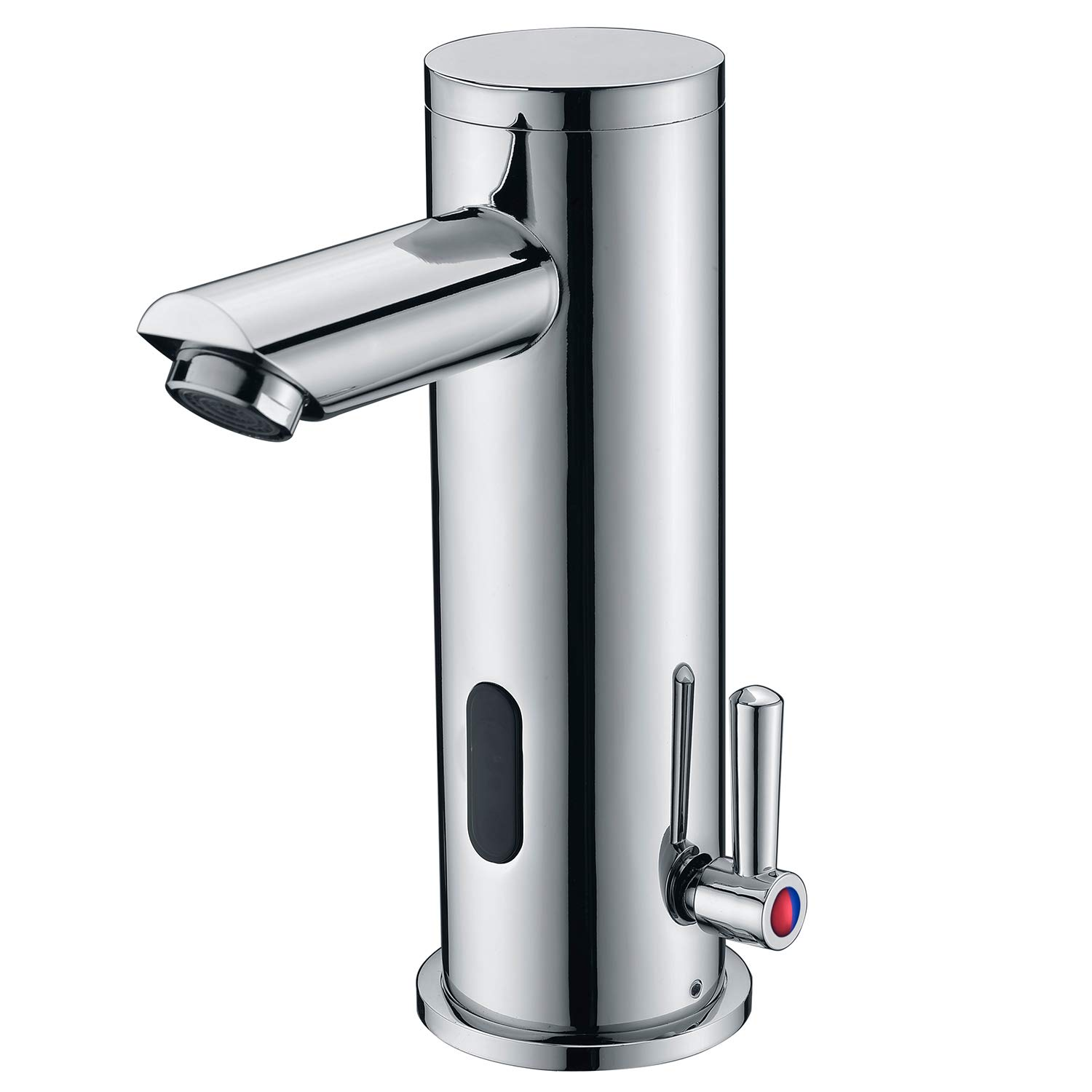 Fyeer Automatic Sensor Faucet, Electronic Touchless Bathroom Faucet,Motion Activated Hands-Free Vessel Sink Tap, Single Handle Easy Installation,Chrome Finish by Fyeer