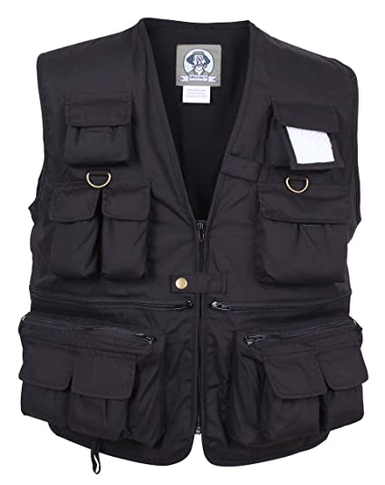 35f0d97fe Amazon.com: Rothco Uncle Milty Travel Vest: Sports & Outdoors