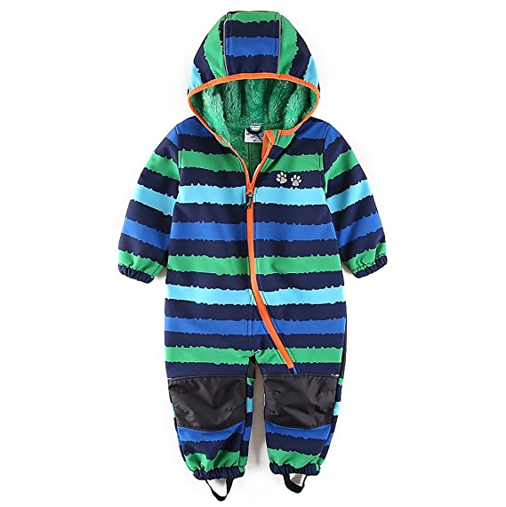 9c173190b umkaumka Baby Boy Waterproof Onesie All in One Romper Jumpsuit Snowsuit  Fleece Lining Bunting Pramsuit - Muddy Play Outfits: Amazon.co.uk: Clothing