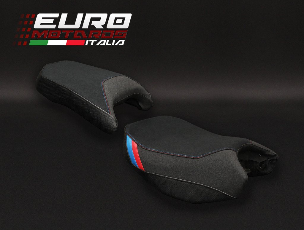 BMW R1200GS Adventure 2014-16 Luimoto Motorsports Suede Tec-Grip Seat Cover Set by Luimoto