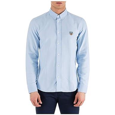 b948d637ab7 Accessoires Crest Homme Kenzo Tiger Vêtements Chemise Blu Et qTn8wHZ