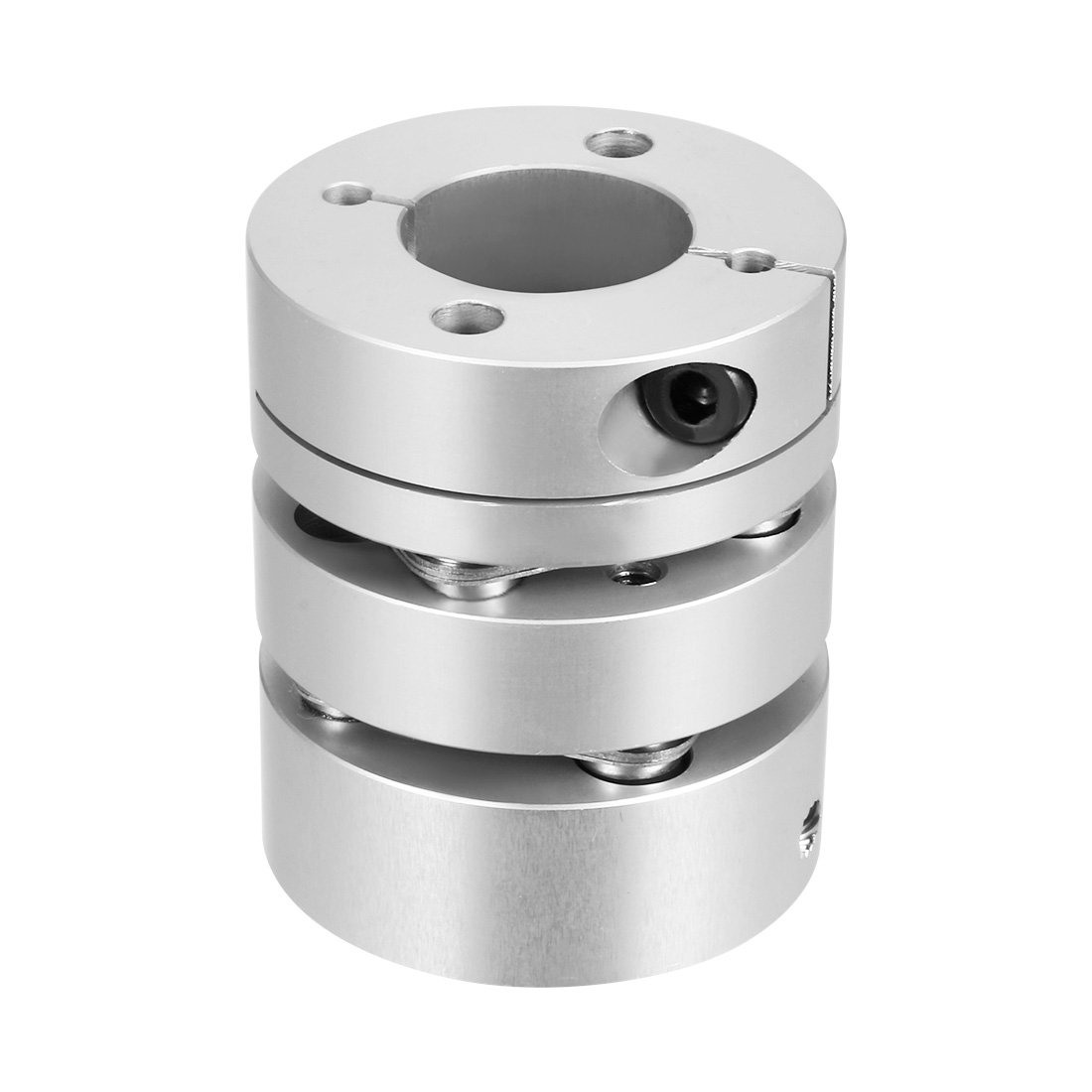 Sourcingmap 10mmx14mm Clamp Tight Motor Shaft Double Diaphragm Coupling Coupler a17110100ux0202