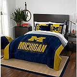 Michigan Wolverines Full Comforter and Sham