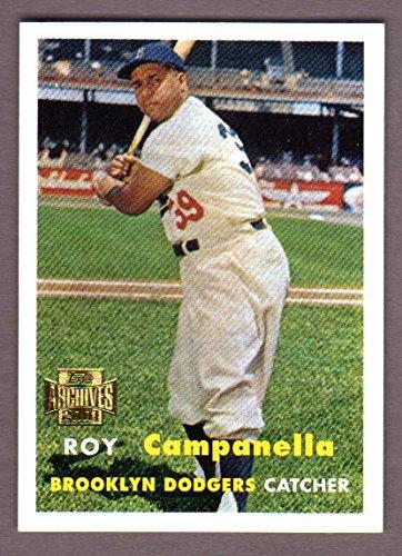 Roy Campanella 1957 Topps Reprint (Dodgers)