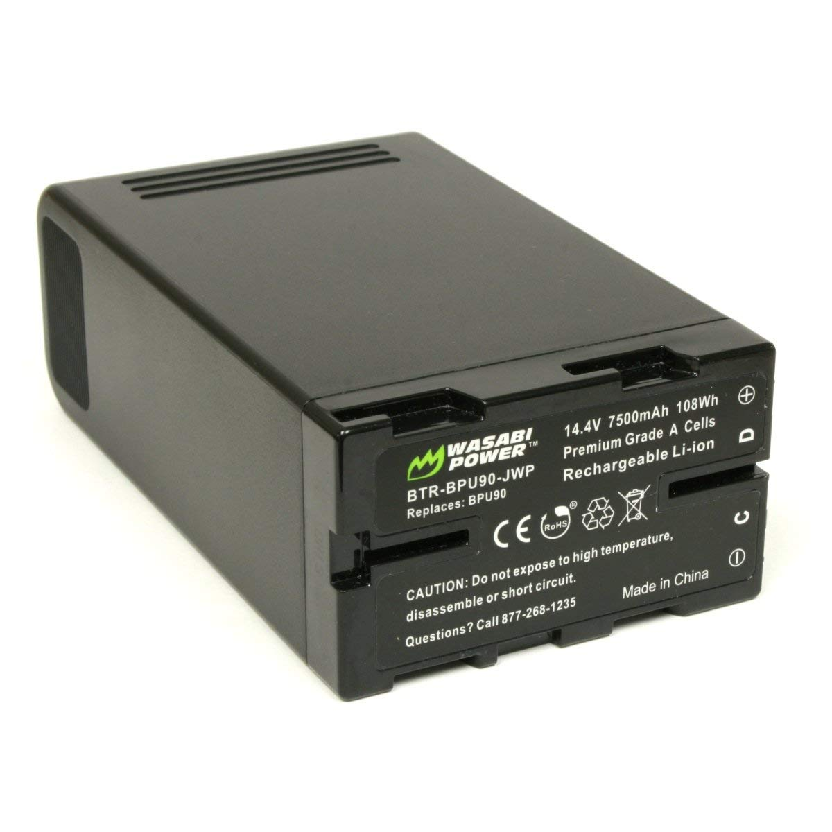 Wasabi Power Battery for Sony BP-U90 (14.4V, 7500mAh, 108Wh)