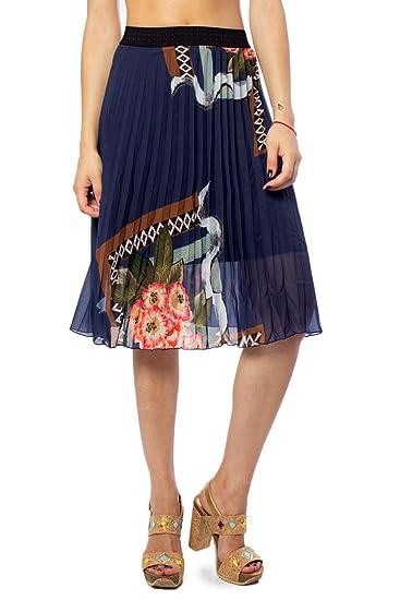 Desigual Falda Mujer: Amazon.es: Ropa y accesorios