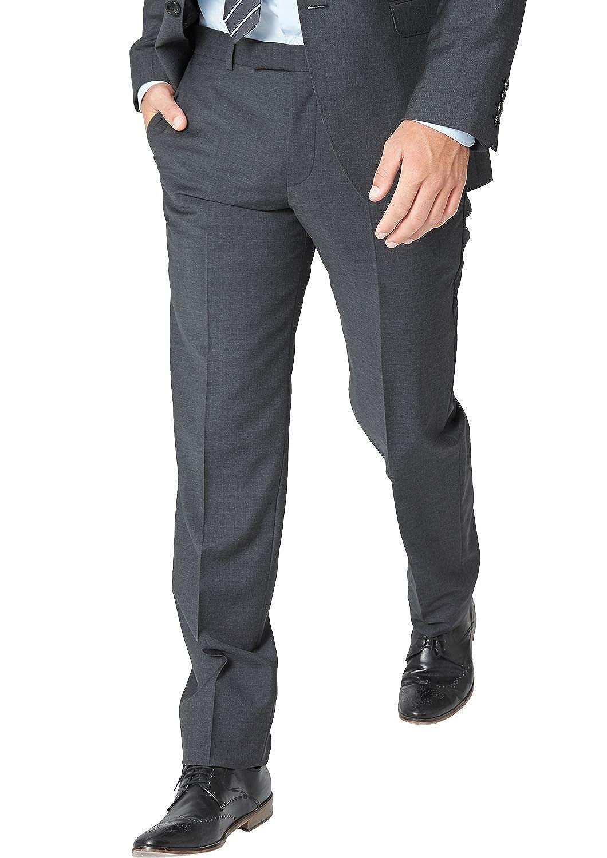 s.Oliver BLACK LABEL Herren Anzughose mit Struktur, Einfarbig