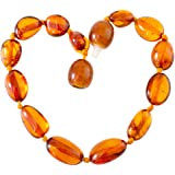 Nickolas Jewellery Luxury Baltic Amber Bead Necklace, Anklet, Bracelet- Any Size, Tailor Made in Sheffield,UK