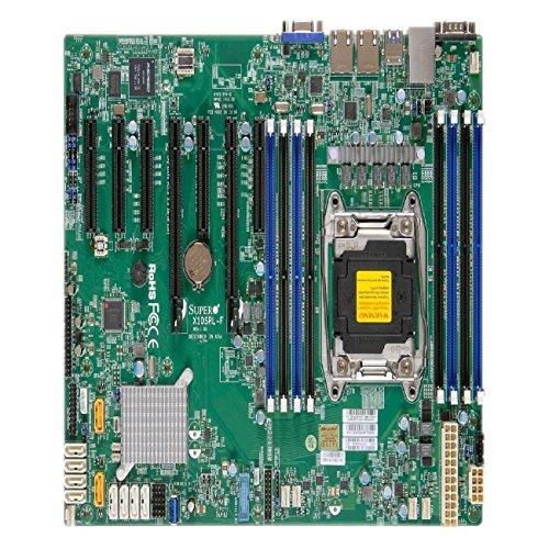 (Supermicro Motherboard MBD-X10SRL-F-B Xeon E5-1600/2600v3 LGA2011 C612 256GB DDR4 SATA ATX Brown Box)