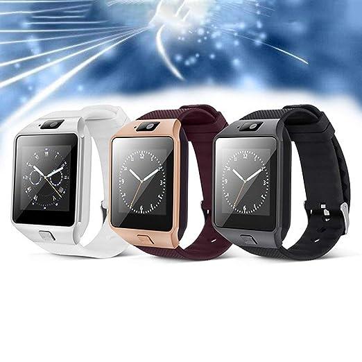Smart Watch Dz09 Gold Silver Smartwatch Relojes para iOS ...