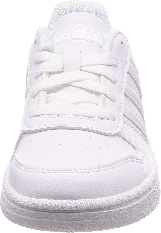 Ingenieros matrimonio orden  adidas Hoops 2.0 K F35891 Unisex Color blanco Zapatillas: Shoes - Amazon.com