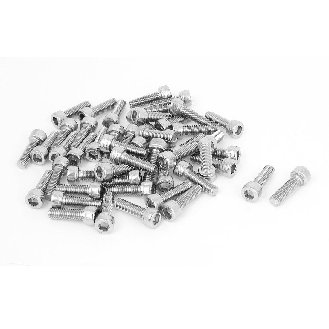 Tornillos de Acero inoxidable M6x20mm eDealMax dado ...