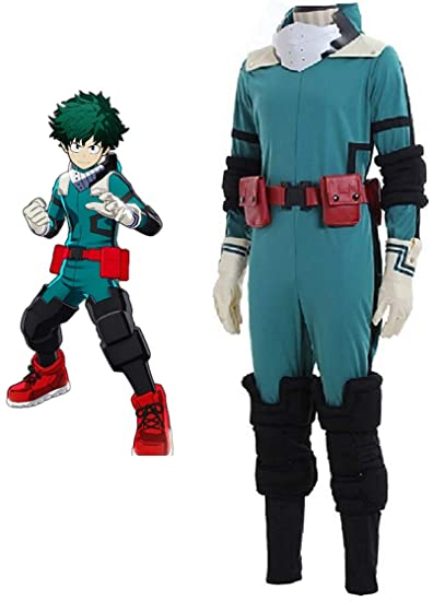My Boku No Hero Academia Midoriya Izuku Gym Uniform Cosplay Costume Halloween