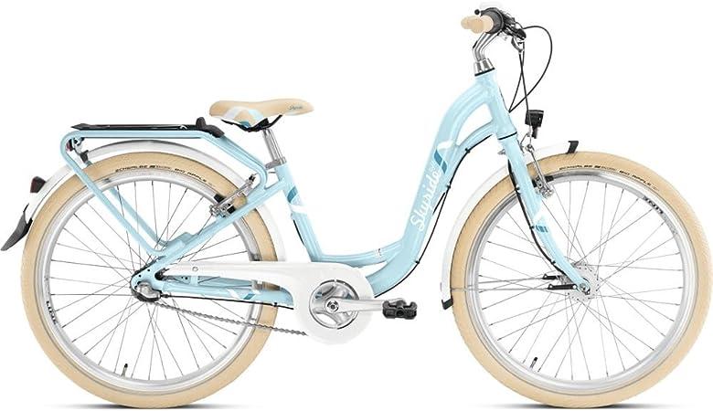 Puky Skyride 24 – 7 Alu Light Classic Niños Bicicleta Azul: Amazon ...