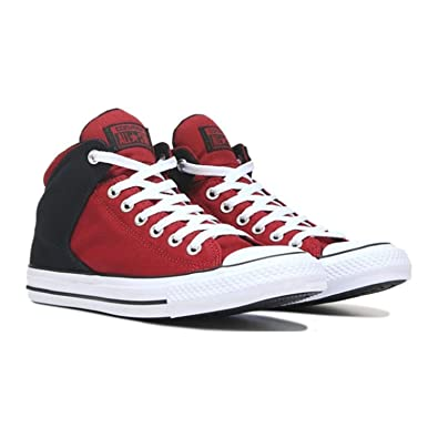 Converse All Star Chuck Taylor High Canvas Top Red Black
