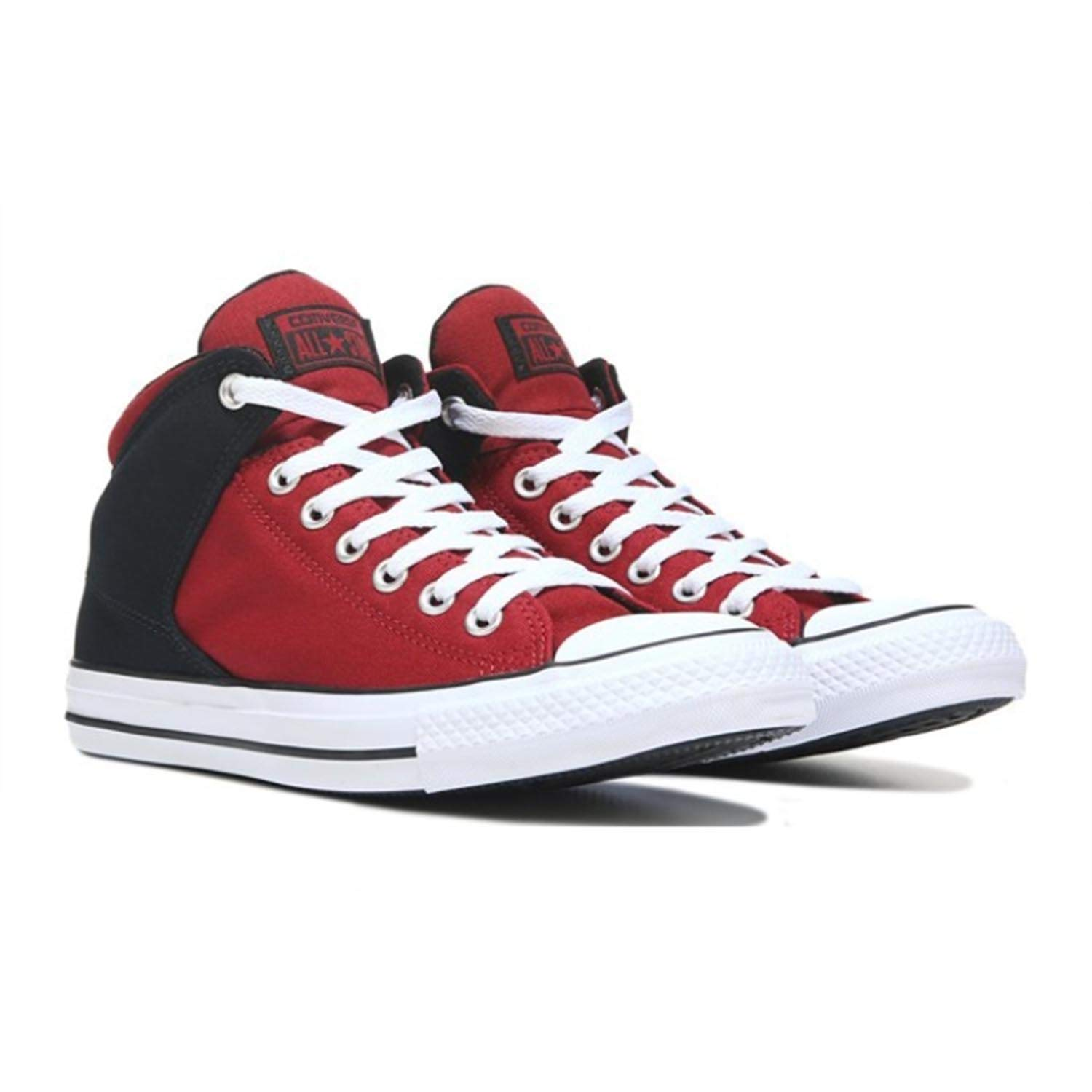 cbe6b4191f8d5b Galleon - Converse Mens Street Tonal Canvas High Top Sneaker (Back Alley  Brick Black White