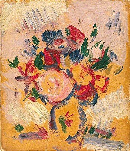 - John Duncan Fergusson Vase of Flowers 1911 Fergusson Gallery 30