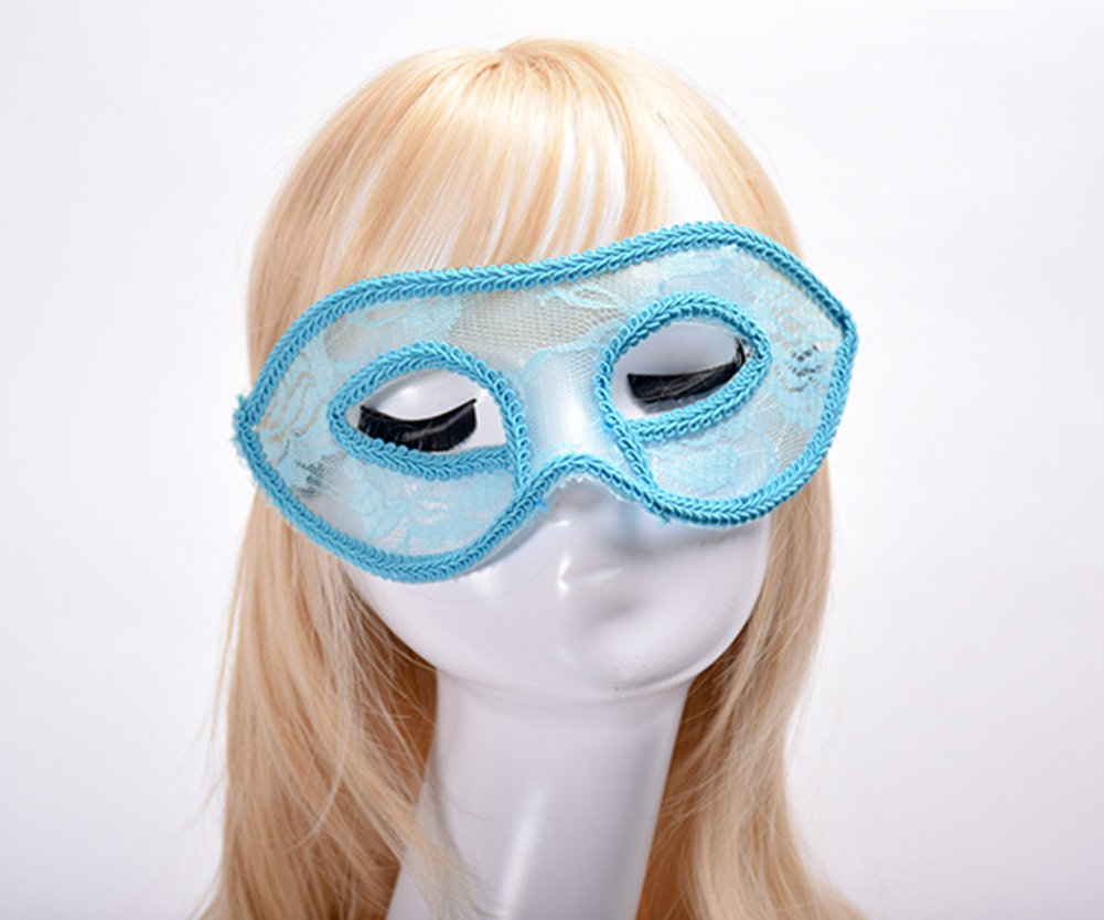 Amazon.com: Sexy Lace Masquerade Masks for Women Venetian Style Eye ...