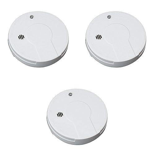 Kidde Smoke Detector Alarm Battery Operated Model I9050 Pack of 3, 1 Lb
