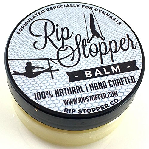 Rip Stopper Balm for Gymnastics | Hand Care Helps Repair Skin Rips, Tears and Prevent Blisters 2oz | 100% Natural | Promote Healing Damaged, Dry or Cracked Hands