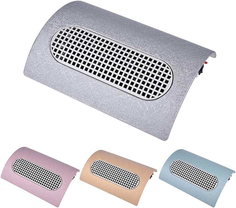 TIEMPO DE SALDI Aspirador de mesa con tres ventiladores para polvos uñas manicura estetista: Amazon.es: Belleza