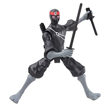 TMNT 5510 Foot Soldier - Soldado Ninja con Accesorios (12 cm)