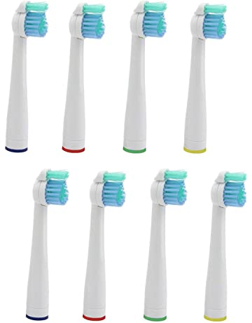 Kongkay® Lote de 8 cabezales de recambio para cepillo de dientes, genérico compatible con